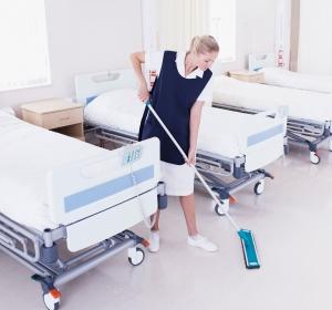Nettoyage salle hopital